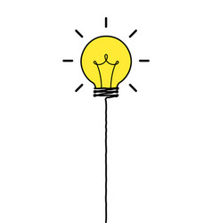 Idea balloon vector
