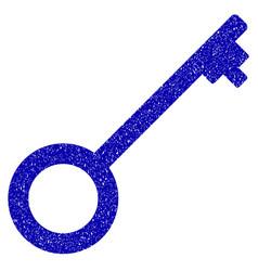 key icon grunge watermark vector image