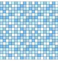 mosaic seamless pattern square tile with pastel vector image