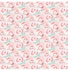 Watercolor Pink Rose vector image