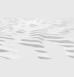 White wavy lines on surface vector