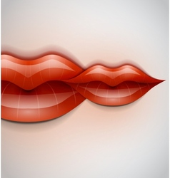 Lips background vector image