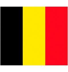 belgium flag vector image