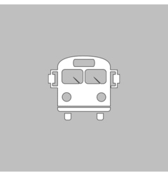 Bus Icon vector image