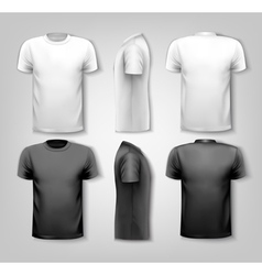 T-shirts with sample text space vector