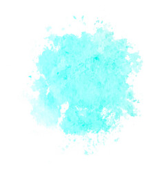 Colorful abstract background soft blue watercolor vector