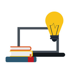 Elearning online education vector
