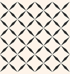 Geometric seamless pattern with diagonal square vector