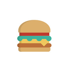 hamburger icon sign symbol vector image