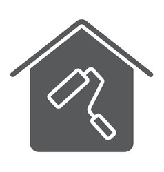 home repair glyph icon real estate and home vector image