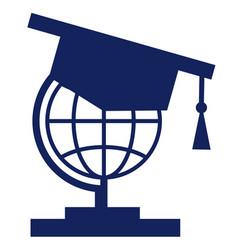 Student icon globe icons vector