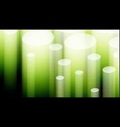 3d white green background eps10 vector