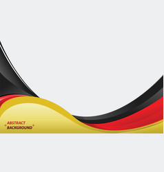 Abstract background germany colors vector