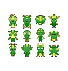 Aliens Pets vector image