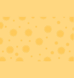 Background of flower theme vector