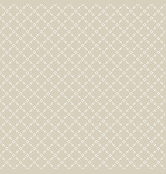Golden seamless repeat geometric pattern vector