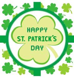 Happy Saint Patrick s Day2 vector image