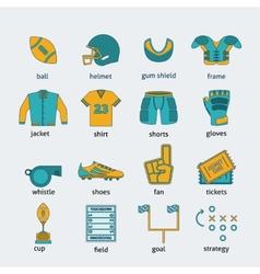 Rugflat icons set vector