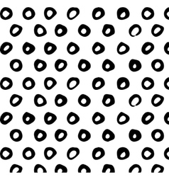 Seamless pattern Abstract background with round vector image