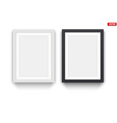 set of modern picture frames vector image