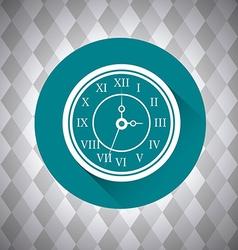 Time digital design vector image