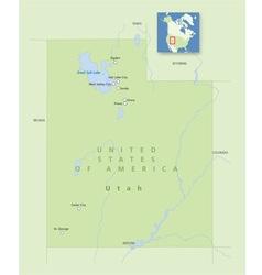 USA Utah Small vector