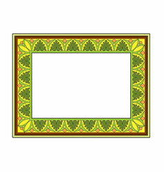 Yellow frame vector