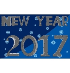 Holiday new year vector image vector image