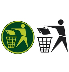 Recycling Sign vector image