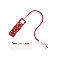 socket icon vector image