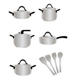 Cooking Equipment vector image