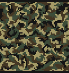 camouflage pattern digital seamless vector image