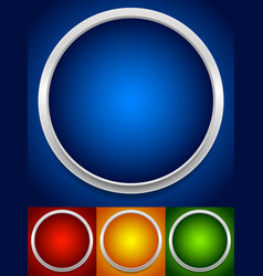 circle backgrounds vector image