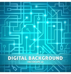 Digital background vector image