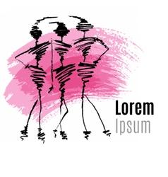 Fashion logo design vector