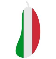 Italian aubergine vector