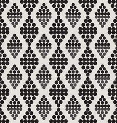 Ornament seamless black and gray circles vector