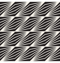 Seamless Black And White Stripe Lines vector image