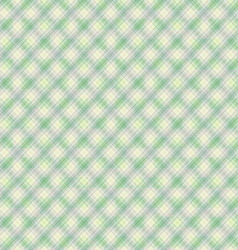 Seamless gentle green diagonal pattern vector image