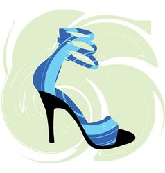 Woman Shoe vector image vector image