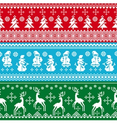 abstract lovely colorful christmas background vector image