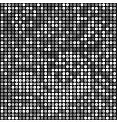 disco black background vector image