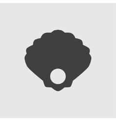 Pearl icon vector image vector image