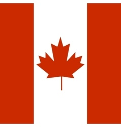 State flag of Canada vector image