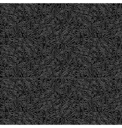 Abstract black textured background vector image