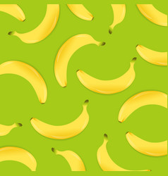background with banana vector image