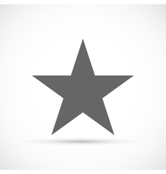 Classic star icon vector image