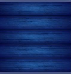 dark blue wooden planks texture vector image