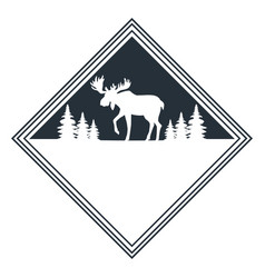 Moose wild animal vector