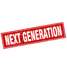 Next generation square stamp vector